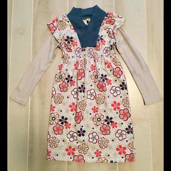 Girls TEA Collection floral dress